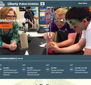 LPS Awarded Outstanding Website Recognition