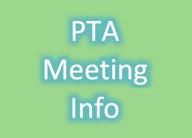 Upcoming PTA Meetings 2019-2020