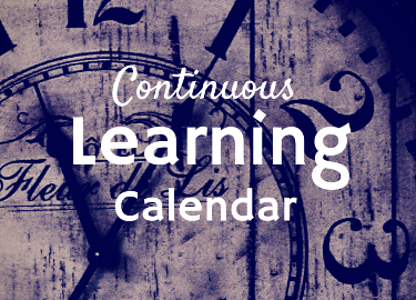 Continous Learning Calendar